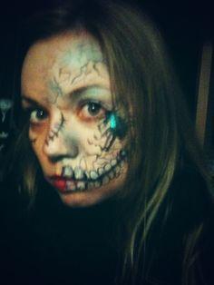 Creepy make up for Monstars & Beasts Haunted House