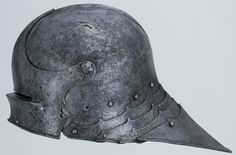 """Sallet"" helmet Origin Southern Germany, 1480-90 Materials Steel Measure 8 3/4"" W x 9"" H x 17"" D Weight 8 lb. 6 oz."
