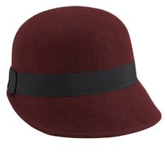 Aldo Burgundy Cloche | available at your local Westfield center