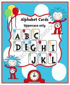 FREE Alphabet Cards from Preschool Printables on TeachersNotebook.com - (7 pages) - Alphabet Cards