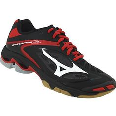 Mizuno Wave Lightning Z3 Volleyball Shoes - Womens Black Silver