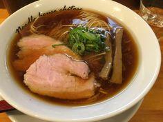 麺庵ちとせ 醤油 肉飯 ¥790、¥180