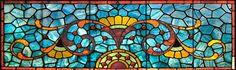 Blue Philadelphia Stained glass