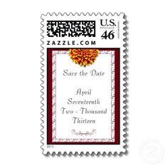 #postage #savethedate #wedding #fireworkflower Firework Flower Postage $22.70 per sheet