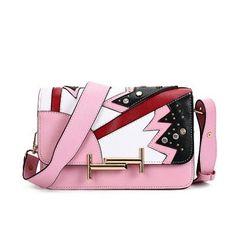 2016 Fahion Pu Leather Women Messenger Bags Patchwork Famous Brand Designer Single Shoulder Bags Bolsos Mujer De Marca Famosa