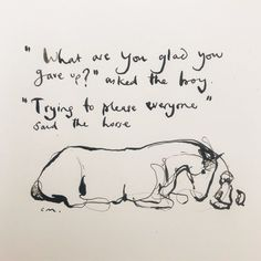 charlie mackesy horse and boy drawings Great Quotes, Quotes To Live By, Me Quotes, Inspirational Quotes, Charlie Mackesy, Charlie Horse, Into The Wild, The Mole, Plus Belle Citation