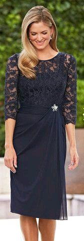 This dress has a lot of potential! Love the color, style might be flattering, too! Mae
