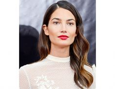 If you want romantic curls like Lily Aldridge, try…