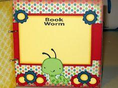 Book Worm, cute idea