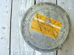 old film reel canister