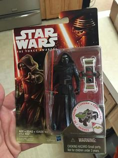 The Force Awakens - Kylo Ren Action Figure - Sneak peek courtesy of Star Wars Showcase