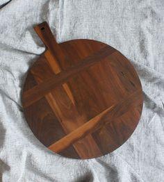 French Paddle Walnut Cutting Board
