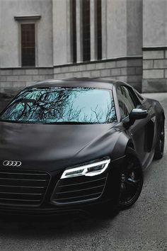 Audi R8 Matt Black! \'SuperCar\' krro.com.mx/