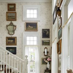 Launching this fall, the volume gives a personal look into the designer's Bellport, New York, home and studio Crowded House, Thomas O'brien, Tudor House, Entryway Furniture, Entry Foyer, Common Area, Home Interior Design, New Books, Gallery Wall