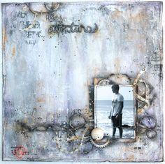 """13arts: Layout """"Aventure"""" by Maryse Jolin"""