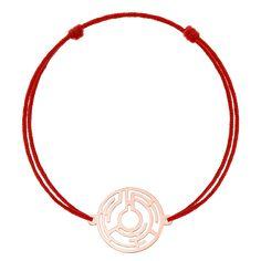 Bratara pe snur cu simbolul labirintului THE MAZE din aur roz Aur, Alex And Ani Charms, Aztec, Charmed, Bracelets, Jewelry, Jewels, Schmuck, Jewerly