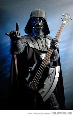 Darth Vader found the Rebel Bass.