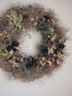 Christmas Tree Decorations, Flower Decorations, Christmas Wreaths, Dried Flower Wreaths, Dried Flowers, Flower Factory, Fall Flowers, How To Make Wreaths, Amazing Flowers