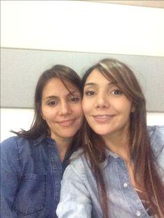 Mi hermana y mi mama