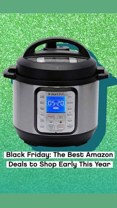 Amazon Black Friday, Black Friday Deals, Pressure Cooker Recipes, Pressure Cooking, Best Cyber Monday Deals, Oil Diffuser Humidifier, Michelle Obama Fashion, Bathtub Caddy, Best Amazon Deals