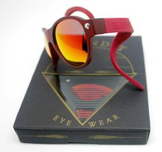 Salvatore Giuliano Limited Edition Translucent Red Frames / Red Lenses / Red Temples and Nose Bridge. www.baendit.com