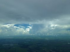 Developing Storms in South East Texas