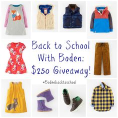 Back to School Style with Mini Boden and Giveaway - BonBon Rose Girls
