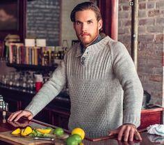Photo Knit Crochet, Men's Knits, Men Sweater, Knitting, Fashion, Craft Work, Moda, Tricot, Fashion Styles