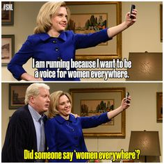The Clintons are back! #SNL