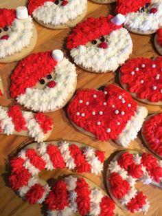 Christmas Sugar Cookies - Follow @ thepreppyhostess.blogspot.com