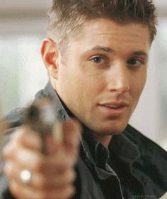 What is it That is so RIDICULOUSLY insanely hot about this man I wonder… I mean, seriously, even with a FLARE GUNS By the way, i just discovered sniper!Dean. Let me share lol and of course the smoking...
