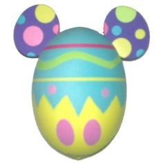 Your WDW Store - Disney Antenna Topper - Mickey Ears Easter Egg