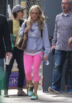 Carrie Underwood - Carrie Underwood Leaves the Gym