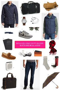 2014 Holiday Gift Guide Gifts He Will Love with Nordstrom
