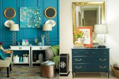 images from elaine griffin interior designs | Photo: Courtesy of HomeGoods/Elaine Griffin, Courtesy of Little Green ...