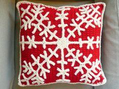Snowflake Crochet Pillow   Flickr - Photo Sharing!