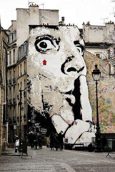 paris new year eve 2012 is part of Urban street art - Paris New Year Eve, 2012 Streetart Paris Murals Street Art, Street Art Graffiti, Banksy, Urban Street Art, Urban Art, Amazing Street Art, Amazing Art, Paris New Years Eve, Urbane Kunst