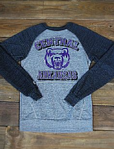 BEAR NATION! Getcha one of these fantastic University of Central Arkansas pullovers, perfect for tailgating and game day! Go UCA!