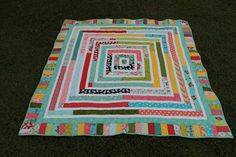 Today was ETC's jelly roll race! Here is the store sample I made, we've done a different pattern each time and I think this one is my. Jelly Roll Race, Picnic Blanket, Outdoor Blanket, String Quilts, Jellyroll Quilts, Crazy Life, Quilt Patterns, Quilting Ideas, Quilt Top