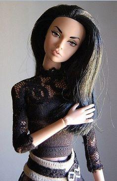 Poppy Parker doll dark haired