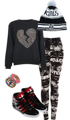"""""""black and white"""" by brandyayers on Polyvore"""