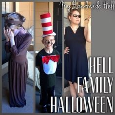 My Handmade Hell: The Hell Family's Halloween Costumes!