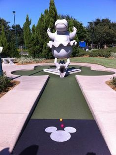 Disney's Fantasia Gardens Miniature Golf - This has officially been added to my bucket list!