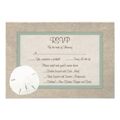 This DealsSand Dollar Beach Wedding RSVP Card - Peridotso please read the important details before your purchasing anyway here is the best buy