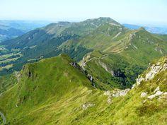 Paysages autour du Puy Mary - Cantal