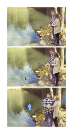 Fishing Gender Reveal | Whitney Lee Photography