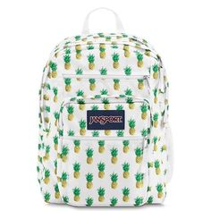 This bookbag has a super fun pattern of pineapples!