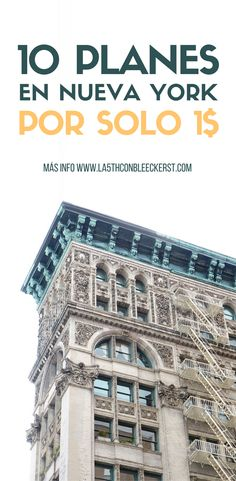 [LISTA AHORRA] Planes en Nueva York por solo 1$ ACTUALIZADO 2017. #NuevaYork #NYC #Manhattan #NuevaYorkTurismo