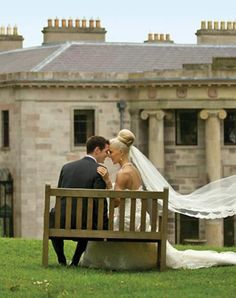 Best Wedding Locations for 2013: Ireland ~ With its misty hills, centuries-old castles and quaint countryside villages, the Emerald Isle was made for fairy-tale weddings. If you crave something magical, say I do in front of a water cascade or a medieval-style tower (complete with a moat and drawbridge) at the magnificent Ballyfin Demesne resort.