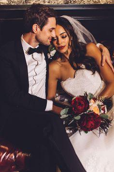 Photography: Steve Cowell Photo - www.stevecowellphoto.com  Read More: http://www.stylemepretty.com/california-weddings/2015/03/17/vanity-fair-inspired-winter-wedding/